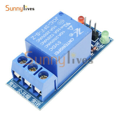 1 Channel 5V Relay Module Shield for Arduino Uno Meage 2560 1280 ARM PIC AVR DSP