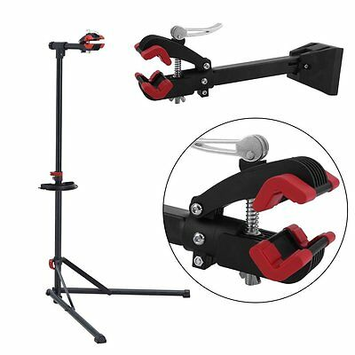 Pro Wall Mount Heavy Duty Bike Bicycle Maintenance Mechanic Repair Folding Clamp