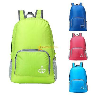 Waterproof Travel Backpack Lightweight Shoulder Bag Rucksack Packable Foldable