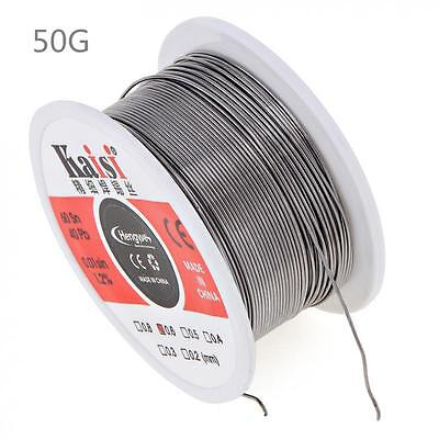 Kaisi Flux 1.2% Sn60 / Pb40 0.4 0.5 0.6mm Tin Lead Solder Wire for Solder Iron