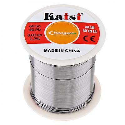 Kaisi Flux 1.2% Sn60 / Pb40 Tin Lead Weld Solder Wire 0.3-0.6mm Diameter Cable