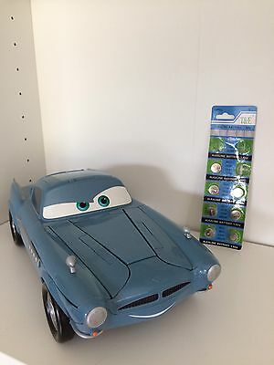 Disney Cars Finn Mc Missile Talking Toy Car Lightning Spy Sounds Guns McMissile