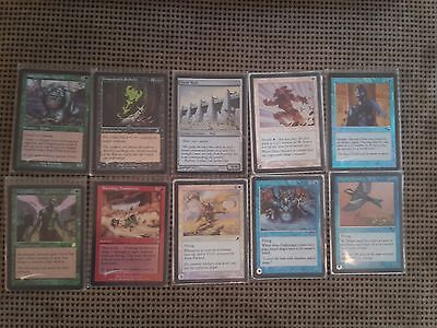 Magic the Gathering 10 Foil Karten Unspeakable Symbol Daru Mender Alpha Status