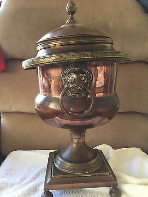 copper samovar-needs attention -Antique ? 43cm/17 in Tall
