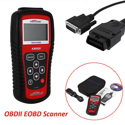 Konnwei KW808 CAN OBD2 EOBD Car Engine Diagnostic Scanner Code Reader Tool Hot