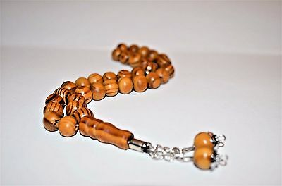 Natural Wood / Prayer beads / worry beads / Tasbeeh / Tasbih / Masbaha / Rosary