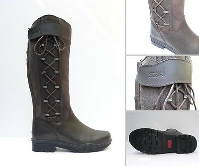 Gateley Country Boot slight 2nds RIDING YARD BOOTS ADULTS BROWN WIDE FIT