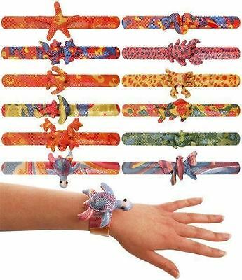 Animal Snap Bracelet Children Kids Loot Goody Party Bags Pinnata Fillers Toys