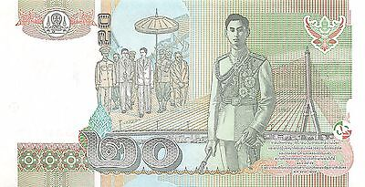 Thailand  20 Baht  ND. 2003  P 109  Series  9 G   Uncirculated Banknote