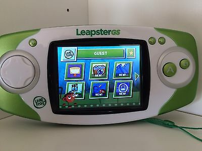 Leapfrog LEAPSTER GS Explorer Console Green
