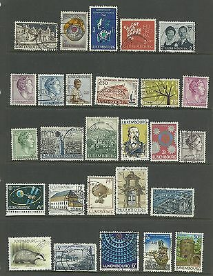 LUXEMBOURG 27  Different    fine used