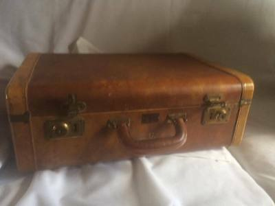 antique vintage Henry Morgan & Company suitcase