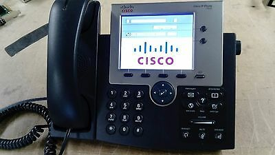 Cisco 7945 CP-7945G SCCP IP Colour VoIP Phone for Cisco Unified Free Delivery