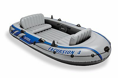 Intex Excursion 4 Includes Pump and Oars, Intex 68324, 4 person capacity-NEW