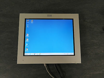 "Ecran Tactile 15"" Ibm Touchscreen Pos Caisse Tactile"