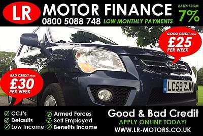 Kia Sportage 2.0CRDi ***GOOD / BAD CREDIT FINANCE*** FR £25 PER WEEK***
