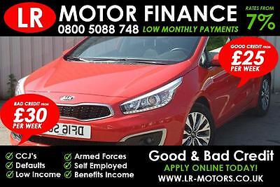 Kia ceed 1.6CRDi ( 134bhp )  ***GOOD / BAD CREDIT FINANCE*** FR £60 PER WEEK