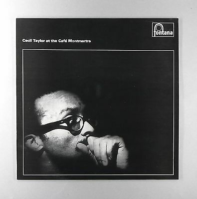 "Cecil Taylor At The Cafe Montmartre - EX / NM - UK 12"" Vinyl LP - SFJL 928"