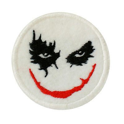 Embroidered The Joker Batman Comic Books Sew & Iron On Appliqué Patch On Felt