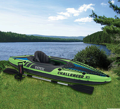 Intex challenger K1 Kayak - NEW