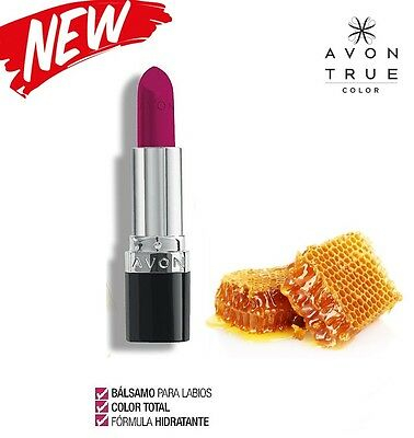 Avon Tinted True Colour  Labial, Color Total con  Cera de Abeja