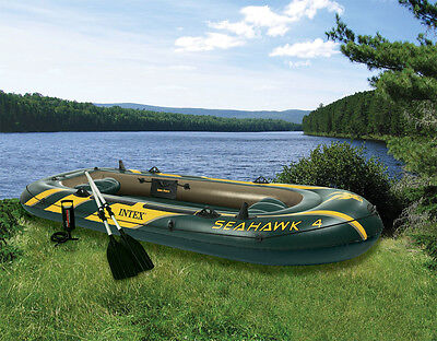 Intex  Sprots series Seahawk 4 boat set - NEW