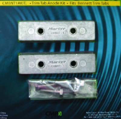 Martyr  Anodes  Anode-Bennett  Trim  Tab  Kit  A  Cmbnt1Akita