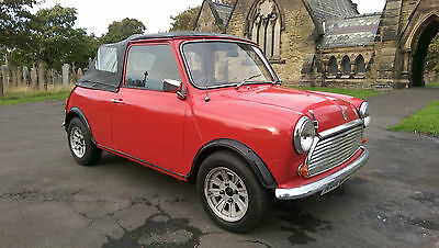 1979 Mini Convertible Classic Refurbished, Lots & Lots of History & Lots of Fun