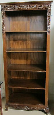 Vintage Book Case Solid Mahogany