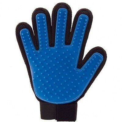 Pet Dog Cat Grooming Glove Dirt Hair Remover Brush Glove for Gentle De-Shedding