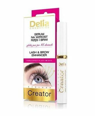 Delia Cosmetics Eyelash  Creator Lash & Brow Enhancer Effect in Just 15 days 7ml