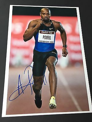 ASAFA POWELL Olympiasieger 2016 In-person signed Photo 20x30 Autogramm