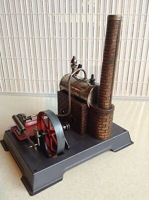 VINTAGE TOY STEAM ENGINE Made in Germany OLD