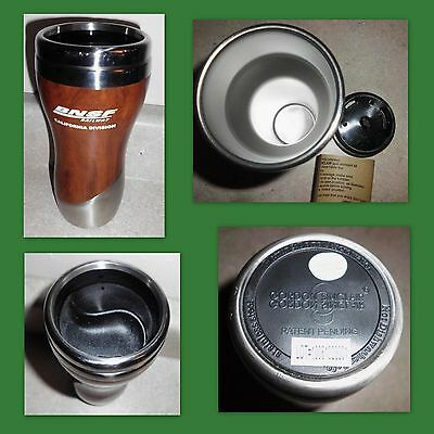 Gordon Sinclair BNSF Railway Stainless Steel Spill Resistant Travel Mug