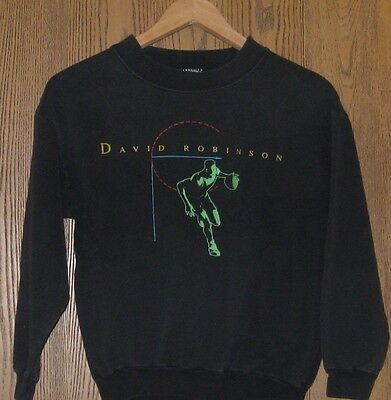 VINTAGE child kid size david robinson basketball sweatshirt NIKE medium