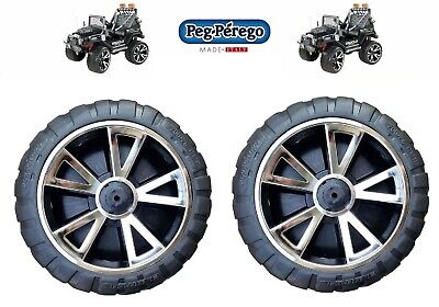 PEG PEREGO  1 RUOTA ANTERIORE / POSTERIORE DESTRA GAUCHO SUPER POWER 24V -new-IT