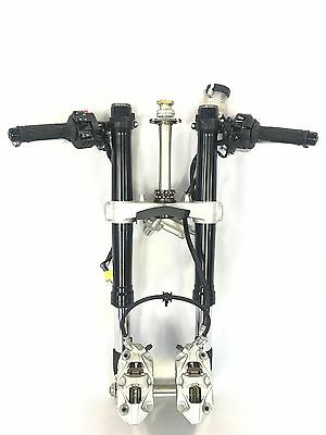 2014 Suzuki GSXR 600 750 OEM Front End Suspension Forks Tubes Fits 2011-2016