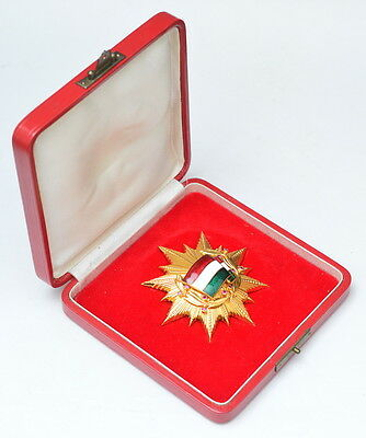 Hungary - Order of the Flag 1st class with Rubies, box
