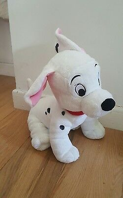 "Genuine Original Disney 101 Dalmations Soft Plush Toy Cuddly Approx 13"" 33cm"