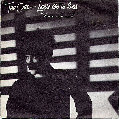 "The Cure - Let's Go To Bed (""Vamos A La Cama"") (7"", Single) Vinyl VInilo"