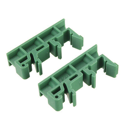 20x(PCB Circuit Board Mounting Bracket for mounting DIN rail mounting screw O4L7