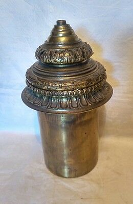 Vintage JS Brass Lamp Base - For Spares/Repairs