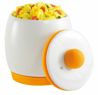 Microwave Egg Cooker And Poacher By Egg Tastic As Seen On TV Non Stick Ceramic