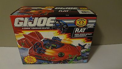 New Sealed 1992 GI Joe RAT Hovercraft! MISB Vintage Hasbro -P