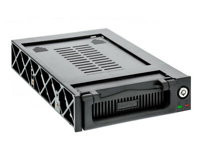 IDE 3.5 inch Hard Drive Mobile Rack for 5.25-Inch Bay with Fan