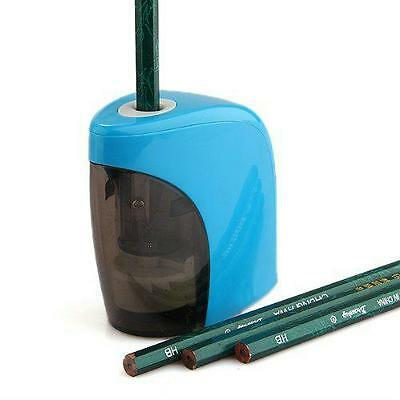 Stationery Automatic Pencil Sharpener Electric School Office Desktop Battery