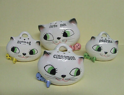 RARE/VHTF Holt Howard Cozy Kitten Spice Set (Japan/1959)