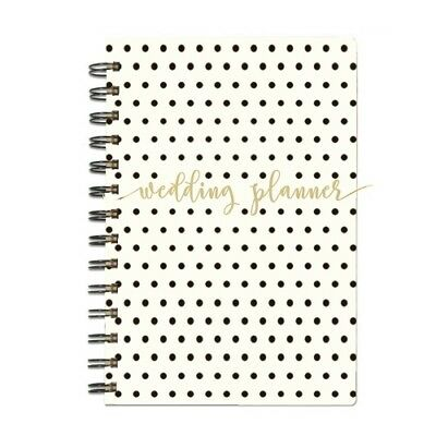 Mary Square Spiral Polka Dot Wedding Planner