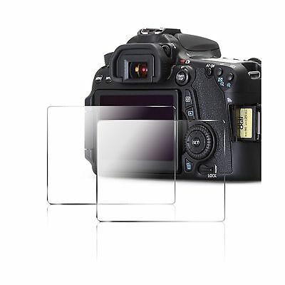 Camera Screen Protector for Canon 70D 80D AFUNTA 2 Pack Anti-scratch Tempered...