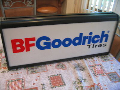 NOS 1991 BF Goodrich Lighted Tire Sign